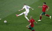 F组-C罗2点射本泽马2球 法国2-2葡萄牙携手出线