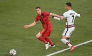 小阿扎尔世界波 比利时1-0筛选葡萄牙进8强