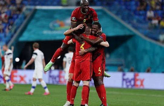 B组-3战全胜!维尔马伦造乌龙卢卡库破门 比利时2-0