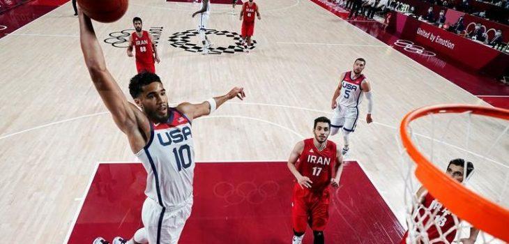 杜兰特10+5+5利拉德21分 美国轻取伊朗迎东奥首胜