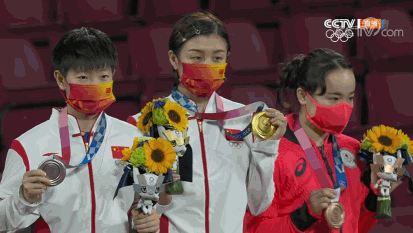 陈梦4-2胜孙颖莎夺乒球女单冠军 我国进账第15金